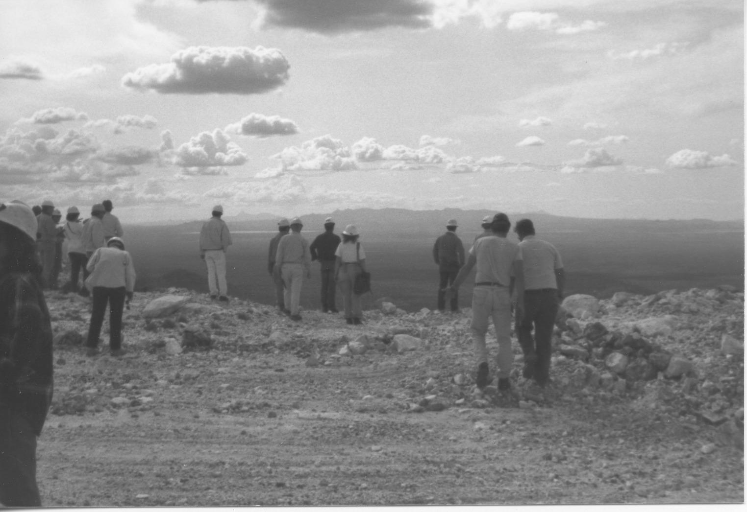 ADMMR Photo Archive file: Santa Rita Limestone Quarry 184-18